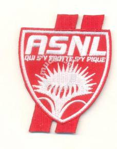 French Ligue AS Nancy Lorraine Football Patch