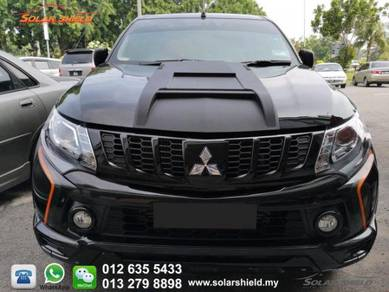 Mitsubishi Triton 4X4 Bonnet Scoop Carbon