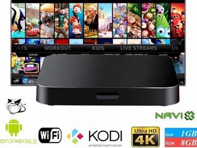 LUXURY 4K Tx tv box uhd Android mega new iptv
