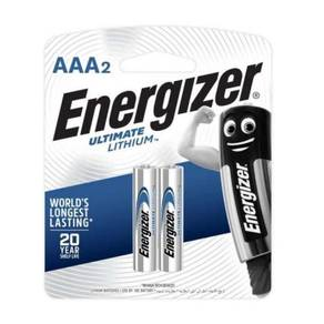 Energizer Ultimate Lithium 2x AAA Battery