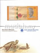 Malaysia RM20 New And Old Notes set