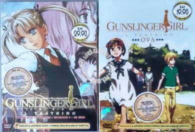 DVD ANIME Gunslinger Girl IL Teatrino Series OVA