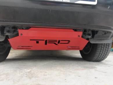 Toyota revo skip plate
