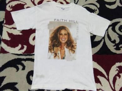 Faith hill t shirt tour size s