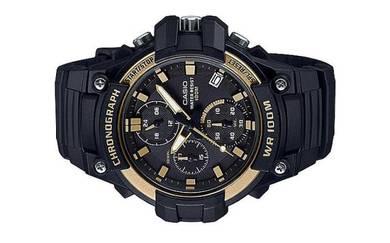 Casio Men Chronograph Resin Watch MCW-110H-9AVDF