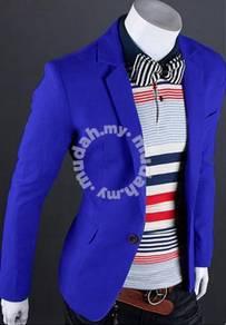 Korean vintage classic stunning blue blazer/coat