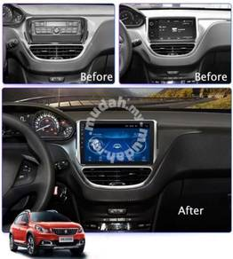 "Peugeot 2008 2013-2019 10""android player"