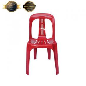 Plastic Chair (Red Color)