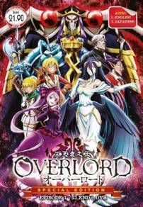 DVD ANIME OVERLORD Vol.1-13End + OVA