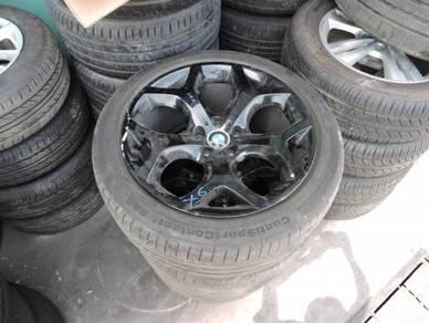 BMW X5 X6 E70 E71 Ori 10Jx20 Sport Rims + Tyres