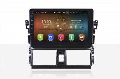 Toyota Vios Android 10 4GB RAM IPS SCREEN player