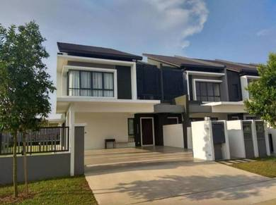 (ENDLOT HOUSE) Nilai Impian 35x70 New 2Sty LinkHouse FREEHOLD Nilai