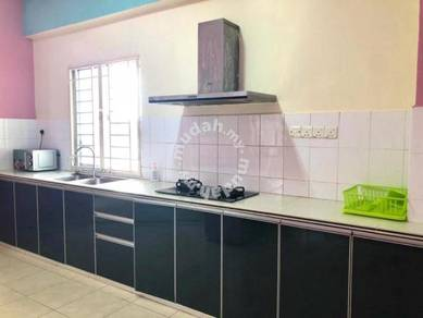 Vista Gambier Low Dense FULLY Renovated Furnished 2 Carpark Gelugor