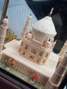 (B353) Vintage Taj Mahal Agra Scale Model