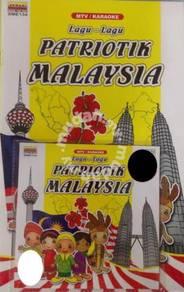 VCD Lagu-Lagu Patriotik Malaysia VCD Bersama Buku
