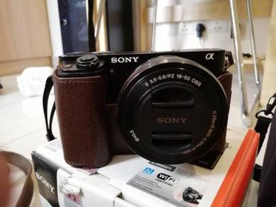 Sony A6000 Kitlens Fullbox Tip Top