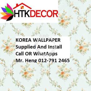 Simple Design With Wall paper with Install 932DW