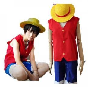 One piece 1st gen Luffy cosplay costume