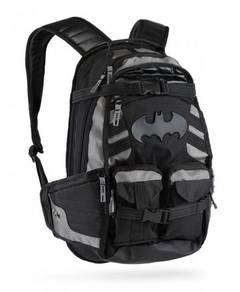 The Dark Knight Batman Black Backpack Bag G42