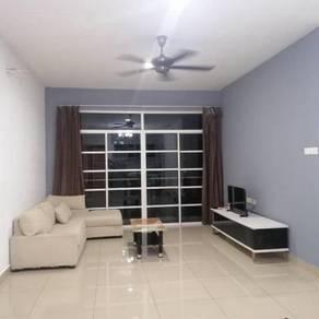 Nusa Height Apartment 3 bilik below market gelang patah fully furnish