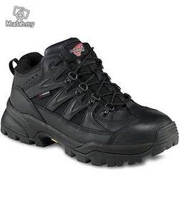 Safety Shoes Red Wing Men Mid Cut Black EH WP 6691