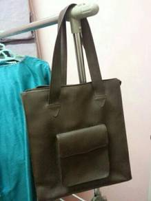 Brown Color Document size bag