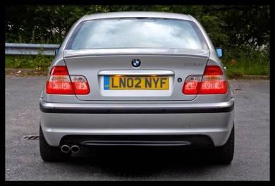 Bmw m sport e46 rear bumper set