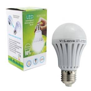 High quality LED rechargeable Emergency bulbs 12W