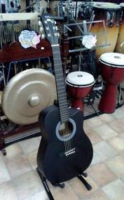 Rcstromm Acoustic Guitar (Black)