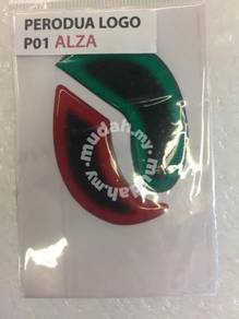 Perodua alza two tone reflective sticker