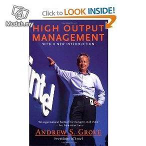High Output Management - by Andrew S.Grove