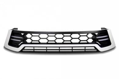 Toyota Hilux Revo Front Grill With LED Bar