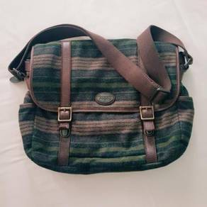 Fossil Original Sling Bag (Genuine Leather Trim)