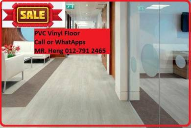 Quality PVC Vinyl Floor - With Install r5y