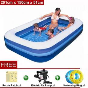 2m inflatable swimming pool 06