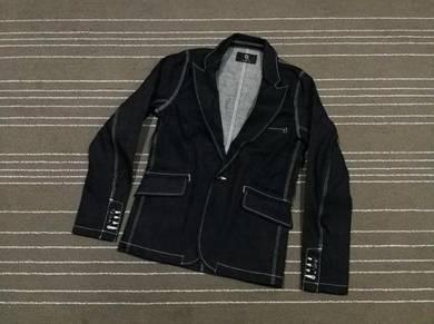 Q nine denim jacket new saiz m