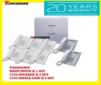 GENUINE Panasonic kxtes824ml keyphone pabx system