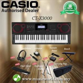 Casio ct-x3000 61 key portable keyboard
