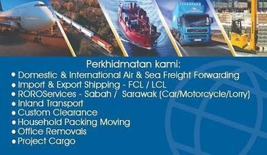 Shipping Barang ke Sabah/Sarawk melalui Kapal Laut