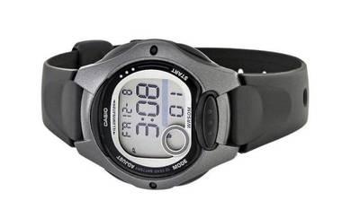 Casio Ladies 10 Year Batt. Rubber Watch LW-200-1BV