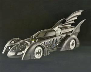 Hot Wheels 1:18 Batman Forever Batmobile toy 45cm