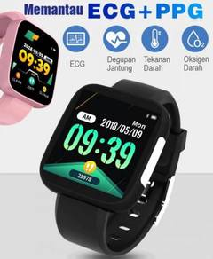 Sport Smart Watch ECG Heart Rate Monitoring OLED
