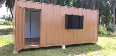 Cabin Besi Offis / Heavy Duty Office Cabin