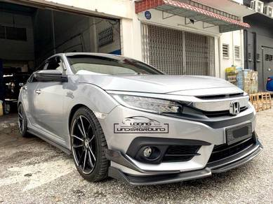 Honda Civic Fc Carbon Front Lips New Style