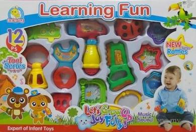 BeiLeXing Learning Fun Rattle Set Baby Toy