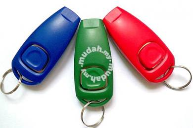 Dog training clicker with whistle
