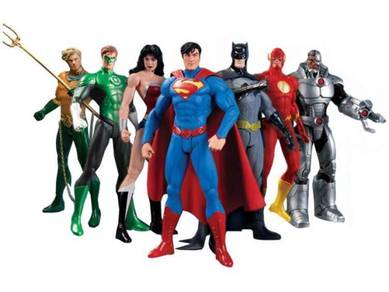 We Can Be Heroes Justice League 7 Action Figures