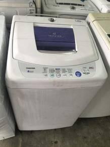 Mesin Basuh Auto Fully Automatic Washer Toshiba