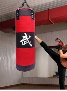 MMA Boxing Sand Punching Bag With Gloves