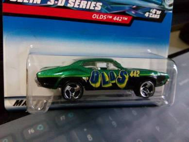 2000 Hotwheels Olds 442